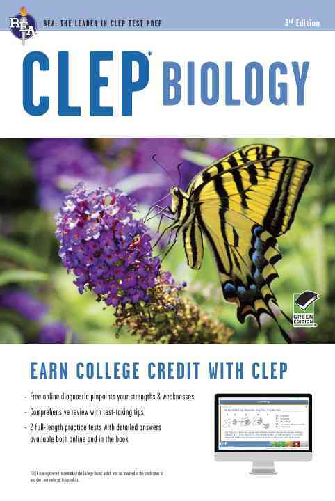 Clep Biology + Online Practice Tests By Callihan, Laurie